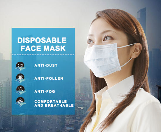 Wholesale Disposable Face Mask Price in China Brother Face Mask Disposable