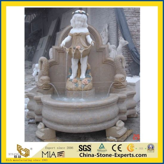 Natural Castro White Marble Carving/Statue/Granite/Sculpture Stone Figure for Plaza/Garden/Decoration pictures & photos