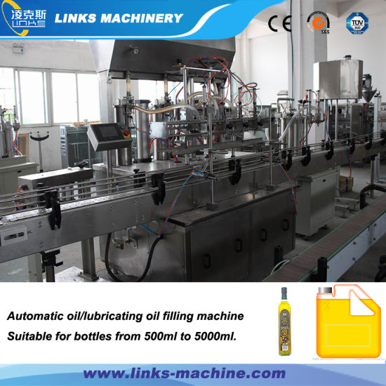 Automatic Factory Direct Price Oil Bottling Station pictures & photos