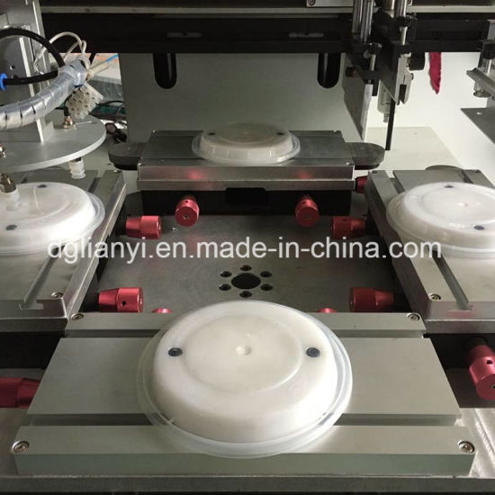 Automatic Flatbed Screen Printing Machine for Lunch Box Cover pictures & photos