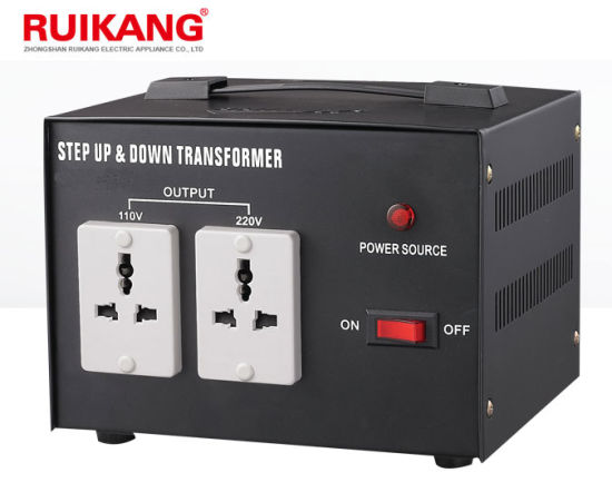 220V 110V 1kw Step up and Down Voltage Transformer pictures & photos