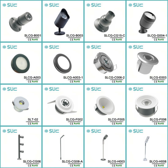 Wholesale 3W LED Cabinet Display Light Fitting with CREE Chip (SLCG-CG06) pictures & photos