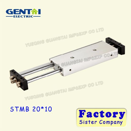 Stm Dual Rod Double Acting Air Cylinder for Automatic Bottle Filling Stm Series Sliding Cylinder Airtac Type Stmb /Stms