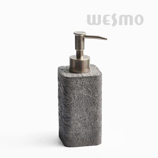 Modern Polyresin Bathroom Set (WBP1189B)