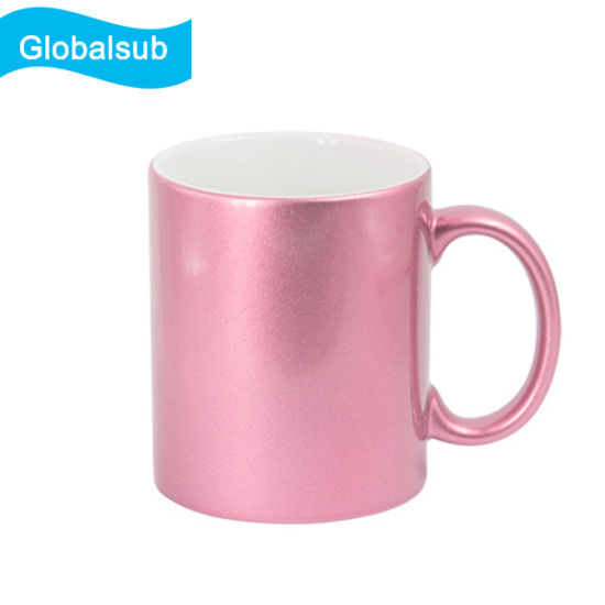 11oz Sublimation Sparking Ceramic Mug pictures & photos