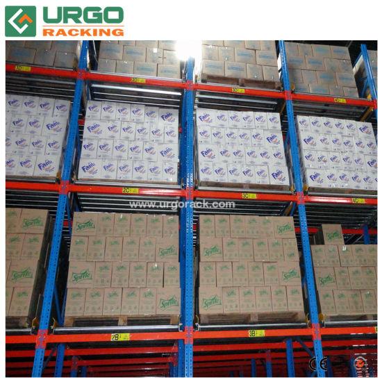 Warehouse Gravity Flow Pallet Racking (Roller Aisle)