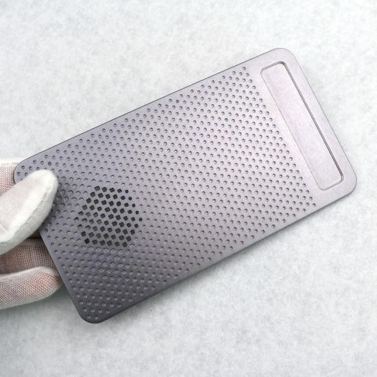 China CNC Metal Fabrication Milled Aluminum Heat Sink Plate