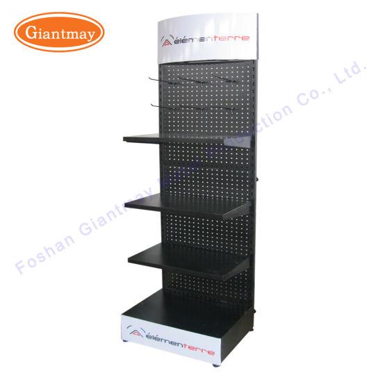 Supermarket Retail Store Accessory Display Tool Rack Metal Pegboard Display Rack