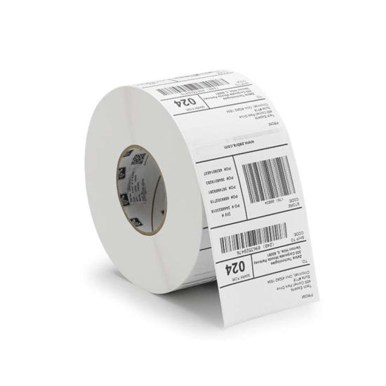 Custom Self Adhesive Barcode Labels Sticker