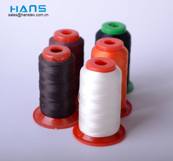 Hans Eco Friendly Good Color Fastness Bonded Nylon Thread pictures & photos