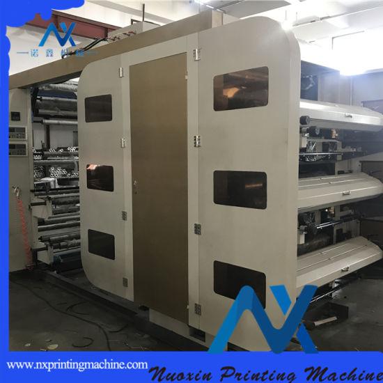 6-Color PE/PP/Paper/Non Woven Flexographic Printing Machine (NuoXin)