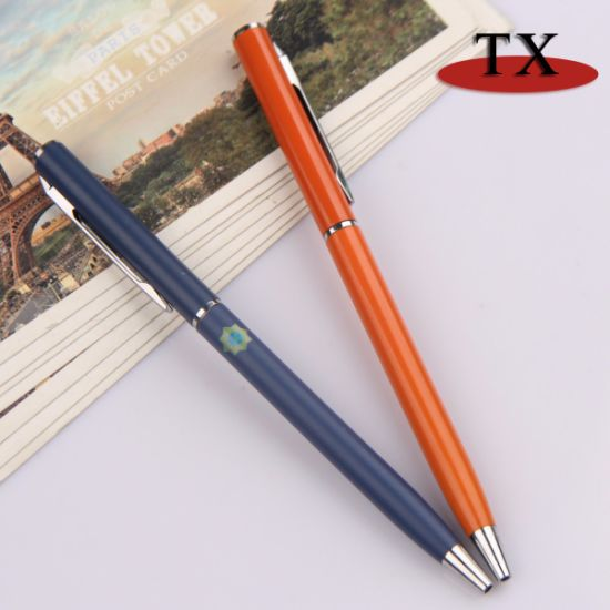 Promotion Metal Ball Pen Office/Business/Hotel Stationery Metal Pen