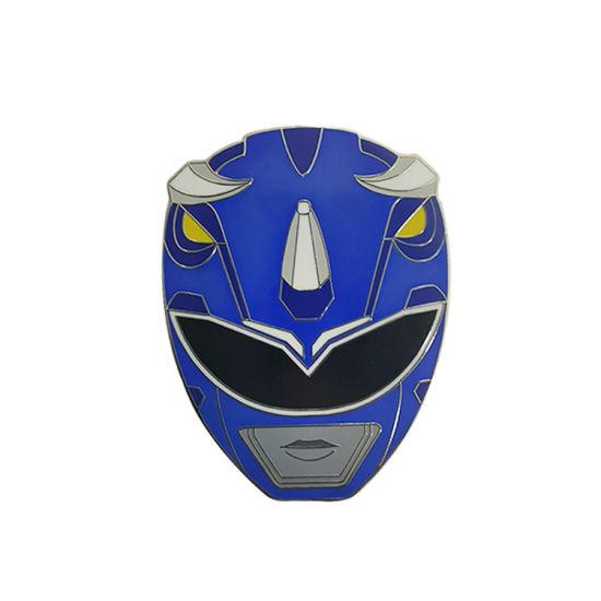 Face Mask Transformers Robot Custom Hard Enamel Pin