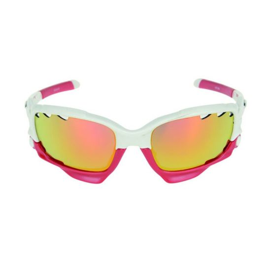 ec7bdb88325 Factory Manufacturer Fashion UV400 Crystal Cycling Sport Sunglasses with  Interchangeable Lenses