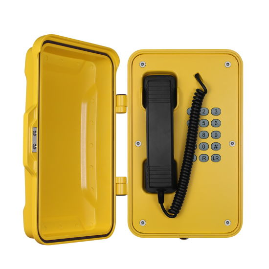 IP66 Industrial Telephones SIP Emergency Tunnel Telephone, Highway Roadside Telephone