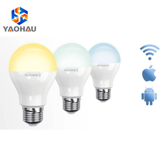 China 5W Dimmable GU10 LED Light RGBW WiFi Smart Light Bulb