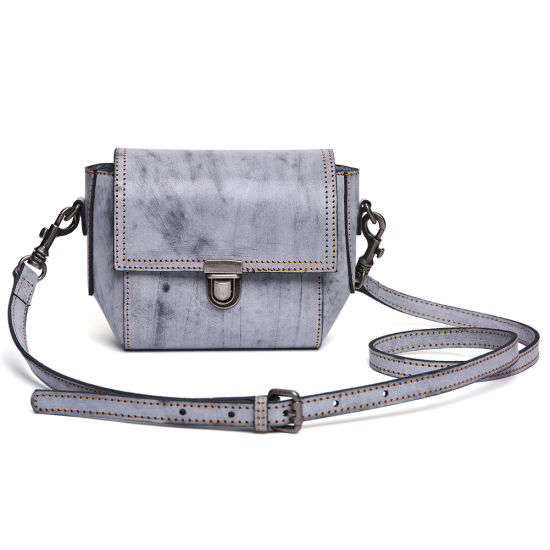 Real Leather Retro Style Women Shoulder Handbag pictures & photos