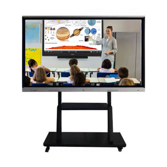 infrared touch panel 55inch Android6.0 smart board with LCD TV