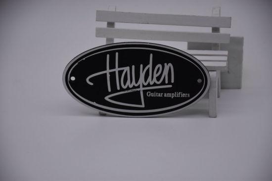 Metal Company Logo Nameplates/Name Plates