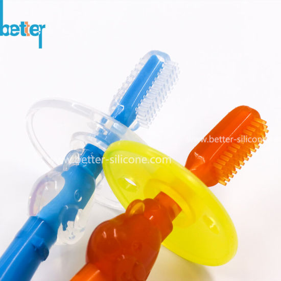 Liquid Silicone Rubber Molding for Food Grade Silicone Baby Teething Toothbrush