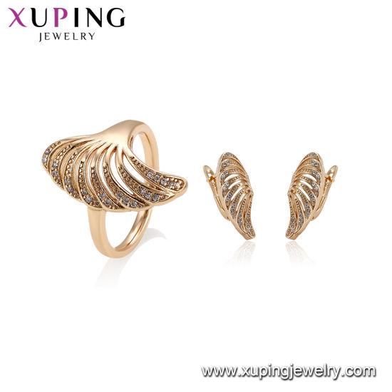 China Free Sample Secret Garden 18k Gold Jewelry Set China Jewelry Set And Fashion Jewelry Set Price