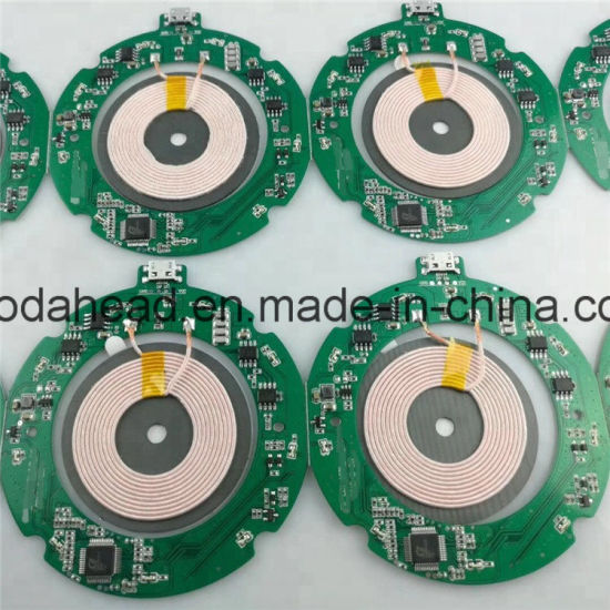 China Wireless Charger Transmit PCB Assembly Power Bank PCBA