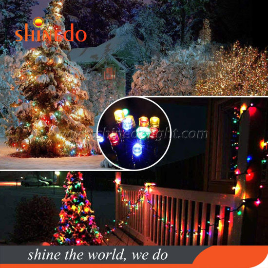 White Rgb Led Halloween Christmas Outdoor Decoration String Light In The Tree