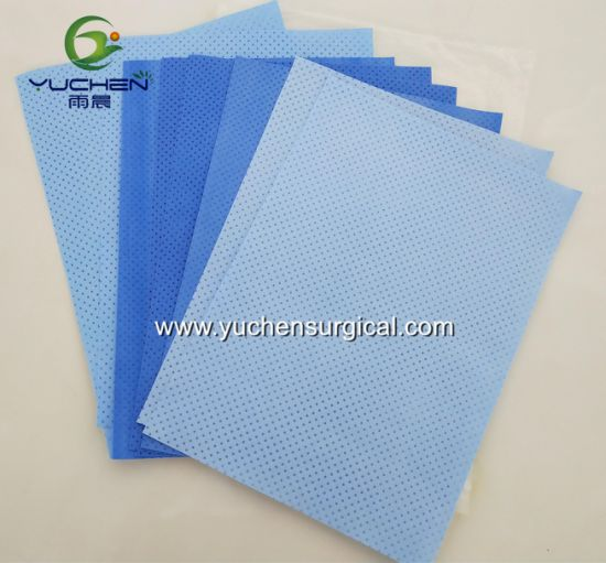 Hydrophilic Smpe Laminated Nonwoven Fabric for Surgical Drape Reinforce Area pictures & photos