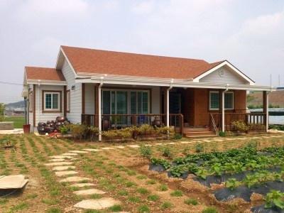 Korean Village Affordable Modern Prefab Homes Factory Built Homes