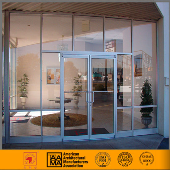 China Commercial Aluminum Storefront Doors And Windows China