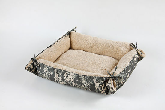 Luxury Pet Beds Dog Baskets with Straps Pet Cushions China Factory