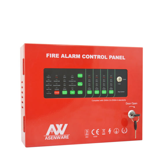 Asenware Lpcb Approvel 1-32 Zone Conventional Fire Alarm Control Panel