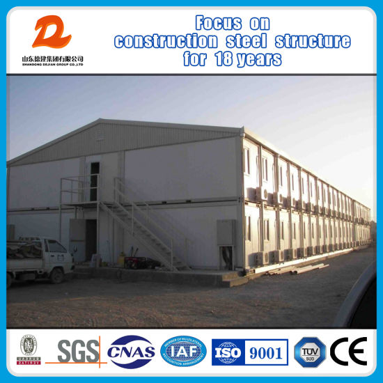 High Quality Steel Structure Fast Construction Shipping Container Hotel