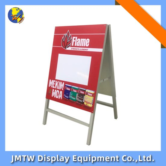 Hot Sale Doudle-Sizes Sidewalk a Stand Frame