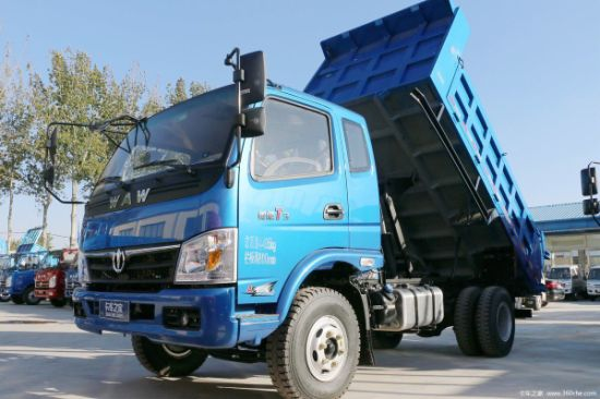 8 Ton Diesel Dump Truck with Strong Engine Power