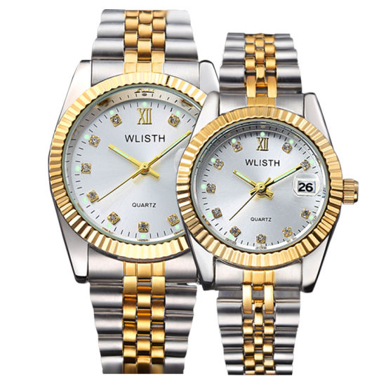 Wlisth Watches Ladies Stainless Steel Strap Luxury Watch Woman Custom Wholesale Wrist Watch pictures & photos