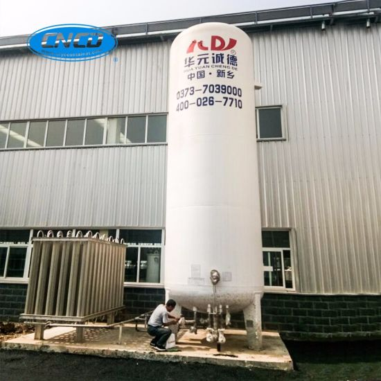 Liquid Oxygen/Nitrogen/Natural Gas/Carbon Dioxide 30m3 Storage Cryogenic Tank pictures & photos