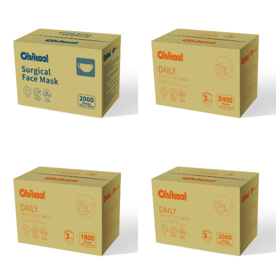 Disposable Masks with Advanced Protection Against Virus Bfe Above 95% Fast Delivery Factory