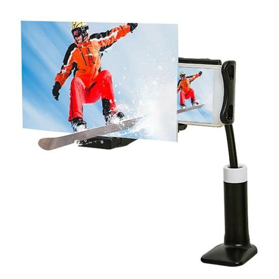 New Arrival High Definition Projection Mobile Phone Bracket Adjustable Phone Tablet Holder HD 3D Screen Amplifier