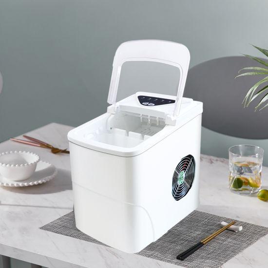 Household Mini Desktop Bar Automatic Tea Shop Portable Ice Maker Machine