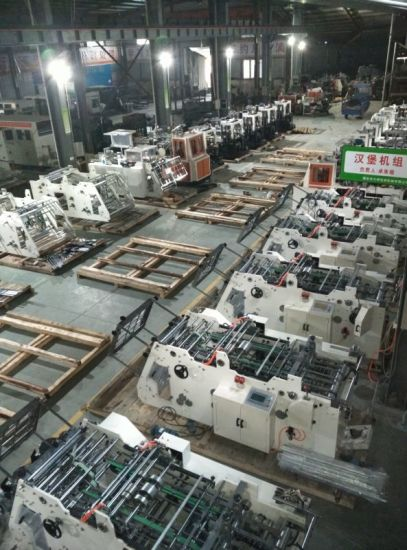 Paper Automatic Carton Box Making Machine Prices pictures & photos