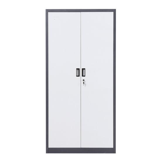Key Lock Glass Door Storage Filing Steel Storage Cabinet