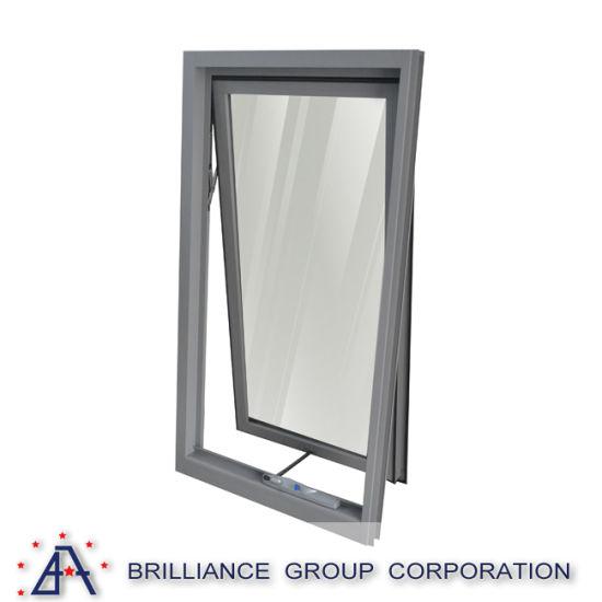 China Double Glazed Insulated Aluminum Window Frame Bender Double ...