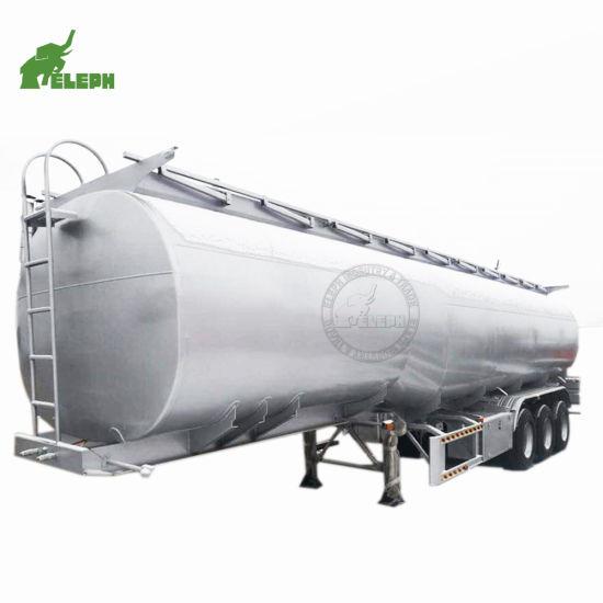 Fuel/Oil Tanker Semi Truck Trailer 3 Axles 30-45cbm Stainless Steel
