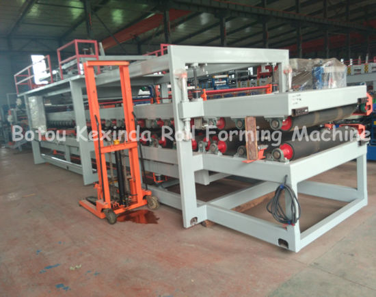 Sandwich Panel Forming Machinery Production Line pictures & photos