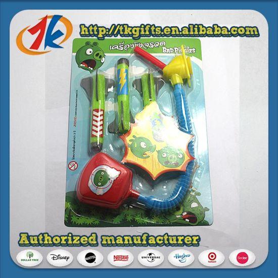 2017 Hot Sale Air Pump EVA Foot Pump Rocket Launcher Toy