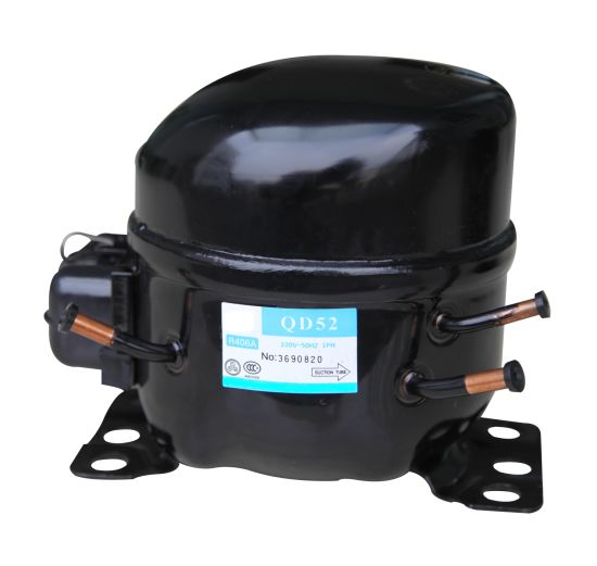 220V R406 Gas Refrigerator Compressor with Aluminum Coils (QD52)