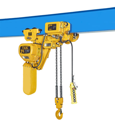2 Ton Low Headroom Hoist with Side Magnetic Brake pictures & photos