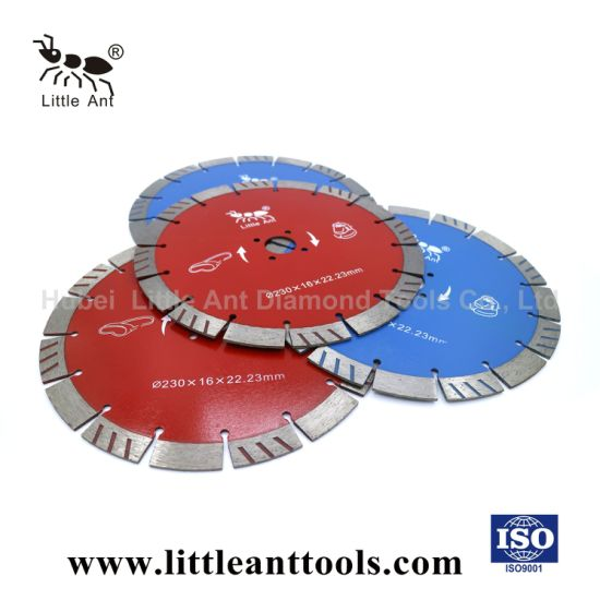 Little Ant Hot Sale 230 mm Hard Stone Cutting Saw Blade