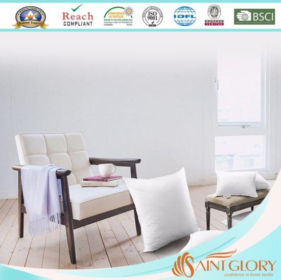 Factory Fiber Pillow High Quality Polyester Microfiber Down Alternative Cushion Inner